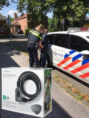 Bluetooth-fietsslot | Sleutelloze bediening