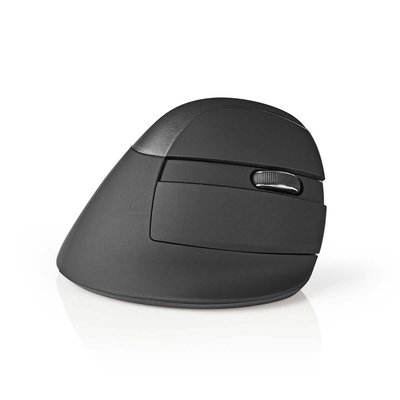 Ergonomische draadloze muis | Mini | 1600 dpi | 6-Button | Black