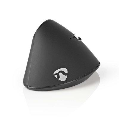 Ergonomische draadloze muis | 1600 dpi | 6-Button | Black
