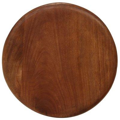 Barkrukken 38x76 cm massief mangohout 2 stuks