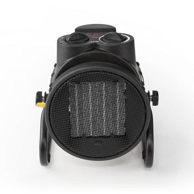 Industriële Keramische Ventilatorkachel   Thermostaat   3 Standen 2000 W   Geel