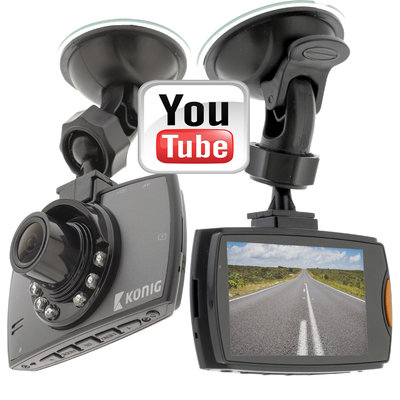 Dashcam | Full-HD 1080p | 2.7