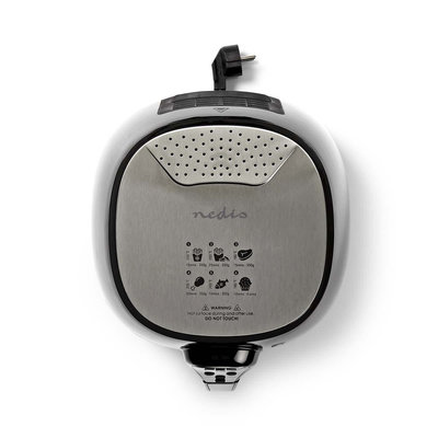 Digitale heteluchtfriteuse | 3 liter | 60-minuten timer | 6 voorkeuzeprogramma's
