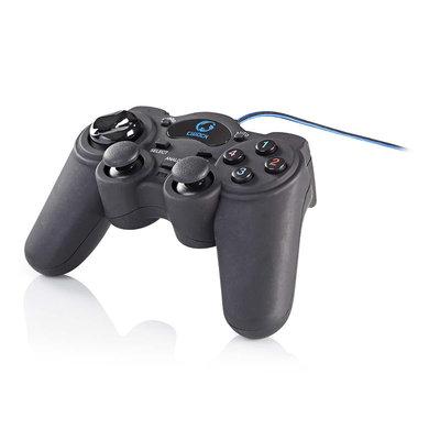Gamepad   Haptische feedback   Gevoed over USB   Werkt met USB-apparaten