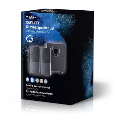 Gaming-luidsprekers | 2.1 | Over USB gevoed | 3,5 mm jack | RMS 11W