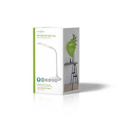 Dimbare LED-tafellamp | Aanraakbediening | 3 lichtmodi | Oplaadbare batterij | 280 lm