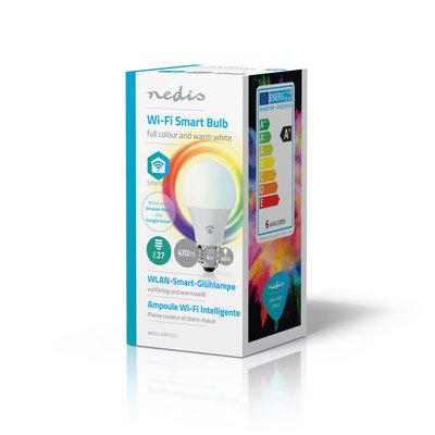 Wi-Fi smart LED-lamp | Full-Color en warm-wit | E27