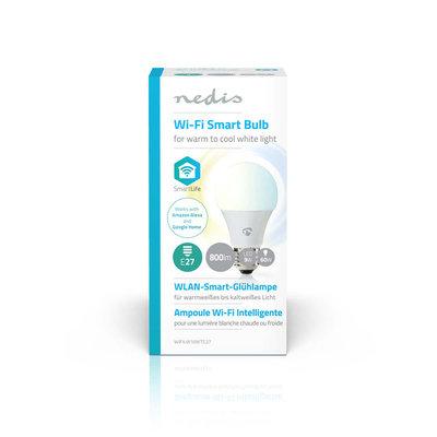 Wi-Fi smart LED-lamp | Warm- tot koud-wit | E27