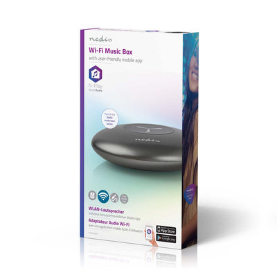 Draadloze multi-room audio-adapter | Wi-Fi | N-Play Smart Audio