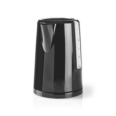 Elektrische Waterkoker | 1,7 l | LED-Verlichting | Zwart
