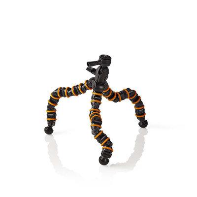 Ministatief | Max. 2,5 kg | 30,0 cm | Flexibel | Zwart/oranje