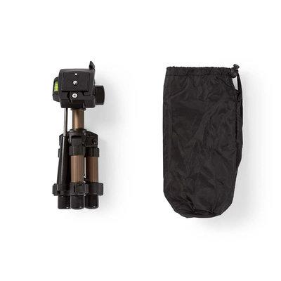 Ministatief | Pannen en kantelen | Max. 1 kg | 161 cm | Zwart / zilver