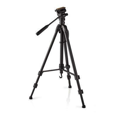 Driepoot statief | Pannen en kantelen | Max. 2,5 kg | 148 cm | Zwart