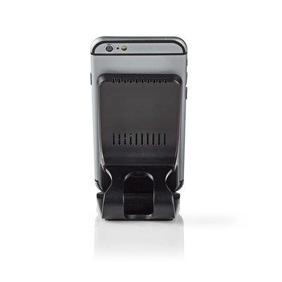 Smartphone desktopstandaard met Draadloze Oplader   10 W   USB type-C™   Zwart