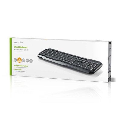 Bedraad USB-toetsenbord | Multimediatoetsen