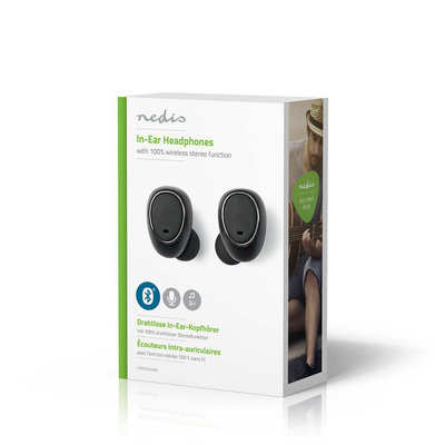Draadloze hoofdtelefoon | Bluetooth® | In-ear | True Wireless Stereo (TWS) | Oplaadstation