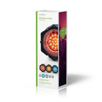 Discolamp met Spots | Multicolour | met 63 LEDs