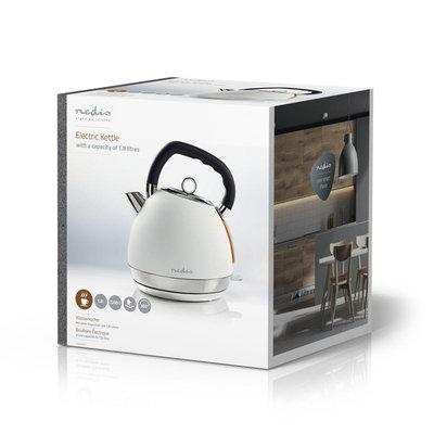 Elektrische waterkoker | 1,8 l | Soft-touch | Wit