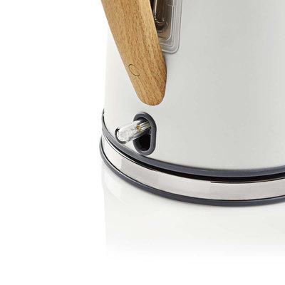 Elektrische waterkoker | 1,7 l | Soft-touch | Wit