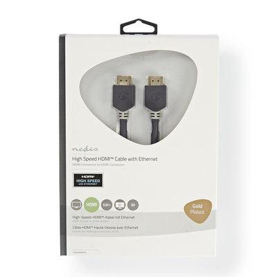 5 Meter Hoge kwaliteit High Speed HDMI™-kabel met Ethernet   HDMI™-connector - HDMI™-connector