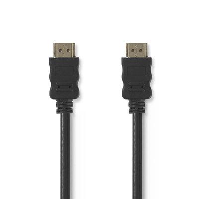 1 meter High Speed HDMI™-kabel met Ethernet   HDMI™-connector - HDMI™-connector