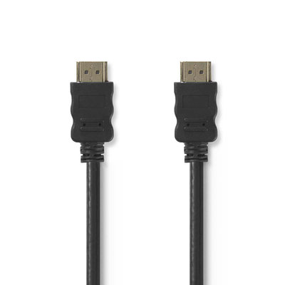 2 meter High Speed HDMI™-kabel met Ethernet   HDMI™-connector - HDMI™-connector
