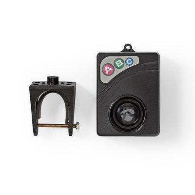 Fietsalarm | Instelbare Gevoeligheid | Eenvoudig Instelbaar | Zwart