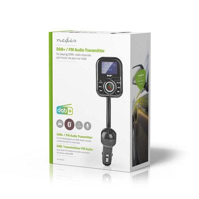 DAB+/FM-zender voor de Auto | Bluetooth® | microSD-kaartslot | Handsfree Bellen | 2x USB