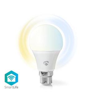 Slimme lamp B22 - Peer - Nedis Smartlife (LED, 9W, 800lm, 2700-6500K, Dimbaar)