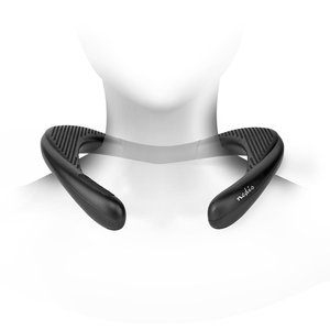 Bluetooth Nekspeaker | 2x 4,5 W | Bluetooth® 5.0 | Tot 10 Uur Speeltijd | Zwart