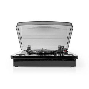 Platenspeler | 18 W | Bluetooth ® | USB-Conversie | Cover | Zwart