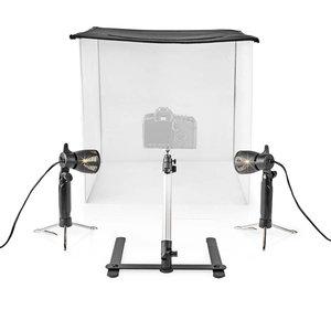 LED Fotostudioset | 60 x 60 cm | 6500 K | opvouwbaar - Ideaal voor Vinted verkopen