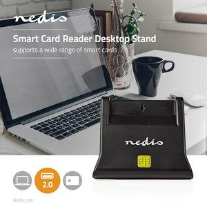 Smartcard Reader   USB 2.0   Desktop Model   Black