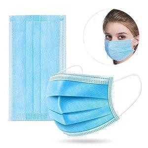 Medisch Chirurgisch Masker IIR 3-laags 10 stuks - Steriel verpakt - CE gecertificeerd