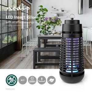 Electrische Insectenlamp - 4 Watt - LED - Zwart
