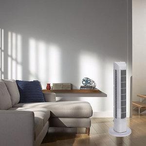 Ventilator - Zeer krachtig - Torenmodel - 80cm hoog - 3 standen