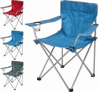 Campingstoel - Strandstoel - Vouwstoel - Redcliffs - 3ass. kleur