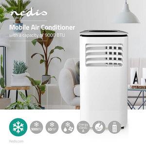 Mobile Airconditioning - 9000 BTU - Energieklasse A - Afstandsbediening - Timer