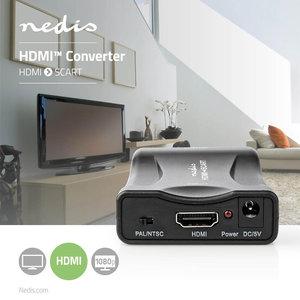 HDMI™-naar-SCART-Converter - 1-Wegs - 1080p