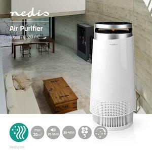 Luchtreiniger - 3 snelheden - Nachtstand - HEPA filter