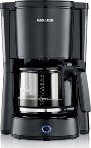 Koffiezetapparaat - Dark Inox - 10 Kops - 1.25 liter - Gelakte roestvrijstalen behuizing.