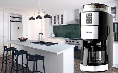 Bestron ACM1100G koffiezetapparaat met koffiemolen - OPRUIMPRIJS!