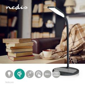 LED-Lamp met Draadloze Lader Dimmer - LED / Qi - 10 W - dimfunctie - Koel Wit / Natuurlijk Wit / Warm Wit - 2700 - 6500 K