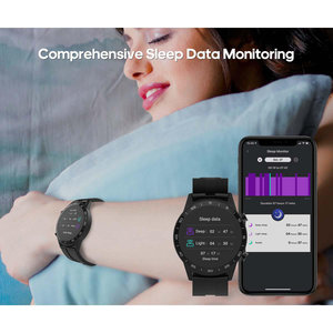 Mooi vormgegeven Smart Gezondheids Horloge + App met zeer veel mogelijkheden.