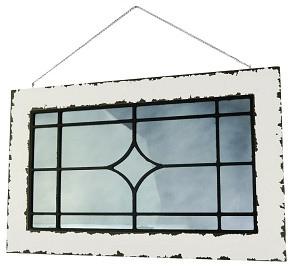 Decoratief glasscherm - Stalraam - Hangend