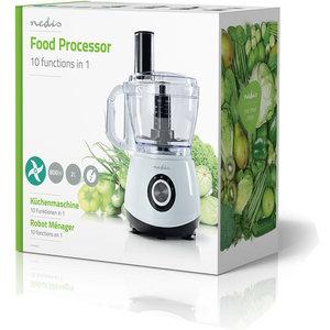 Foodprocessor | 10-in-1 functie | 800 W | 2,0 liter