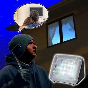TV Simulator- Ingebouwde timer - Zwart